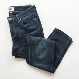Paige | Dark Wash Verdugo Ankle Skinny Jeans 27